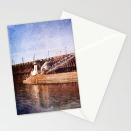 Vintage Great Lakes Freighter Stationery Cards