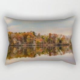 Autumn At Lake LaJoie 2 Rectangular Pillow