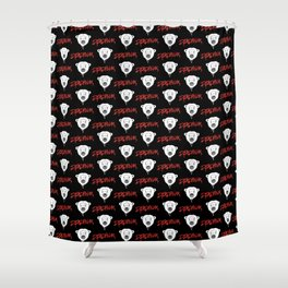 Deadpolar Shower Curtain