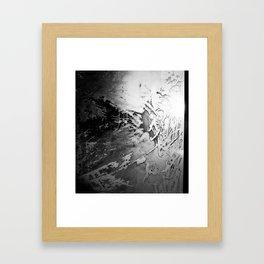 Abstract Ice Framed Art Print