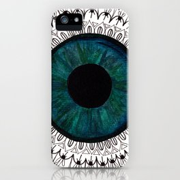 Eye of Cecile  iPhone Case