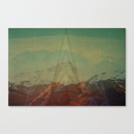 Untitled (Mont Pourri) Canvas Print