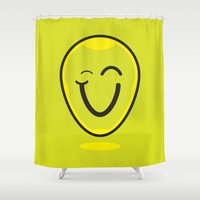 cara Shower Curtains featuring Cara by c4cruz