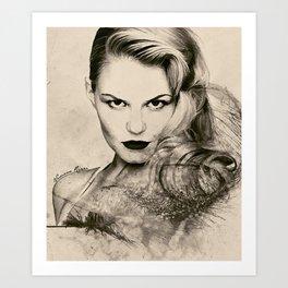 Jennifer Morrison Art Print