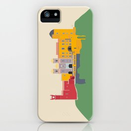 Pena Palace, Sintra, Portugal Travel Poster iPhone Case