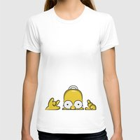 simpson T-shirts featuring Strange Homer Simpson by Yuliya L