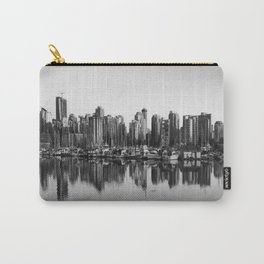 Black and White City Carry-All Pouch