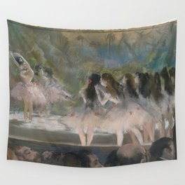 Ballet at the Paris Opéra, 1877, Edgar Degas Wall Tapestry
