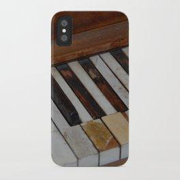Aged Ivories iPhone Case