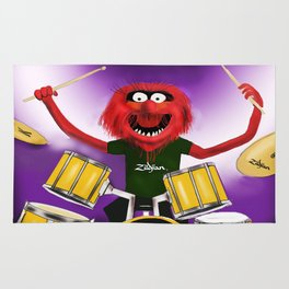 Animal Drummer Rug