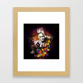 The colors of Frida Framed Art Print