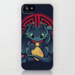 Maneki Dragon iPhone Case