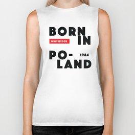 Born in Poland 1984 Biker Tank
