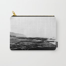 Cape Vidal in B&W Carry-All Pouch