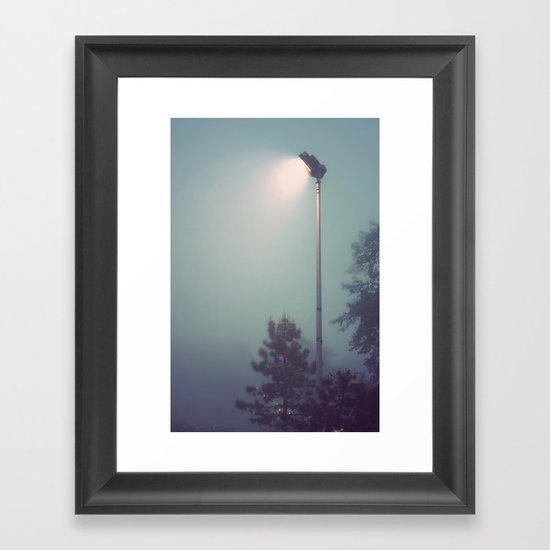 Searchlight  Framed Art Print
