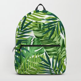 Tropical leaves III Backpack