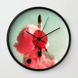 Ignite - Red Wall Clock
