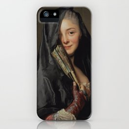 The Artist's Wife - The Lady with the Veil iPhone Case