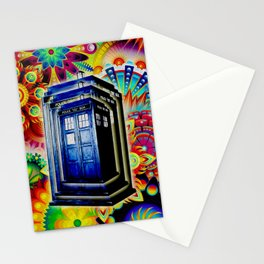 Tardis Colorfull Stationery Cards