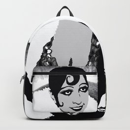 Josephine Baker the Original Flapper and Diva Backpack