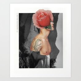 129 - a flower has never lasted two springs Art Print