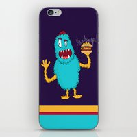 hamburger iPhone & iPod Skins featuring Hamburger! by Chelsea Herrick