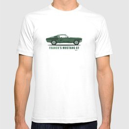 Frank's Mustang GT from Bullit T-shirt