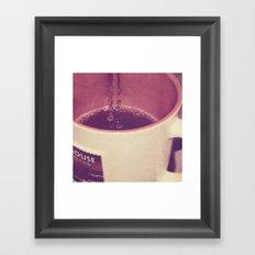 mmmmm, Coffee Framed Art Print