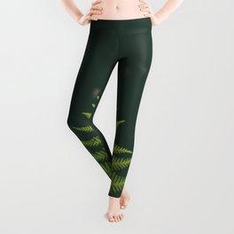 Fern Leaf Green Leggings