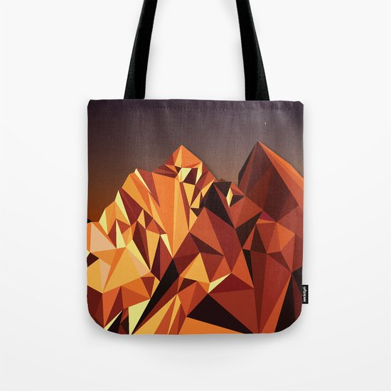 Night Mountains No. 7 Tote Bag
