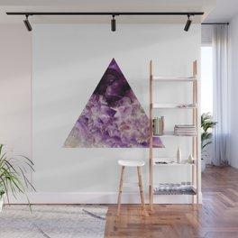 amethyst triangle Wall Mural