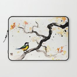 """The tiny wings """"The tit"""" Laptop Sleeve"""