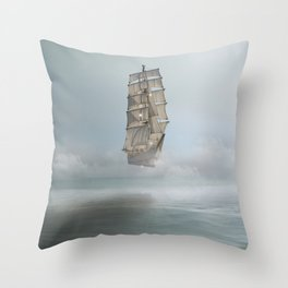 there's no mystery at all Throw Pillow