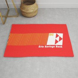 Erie Savings Bank (White) Rug