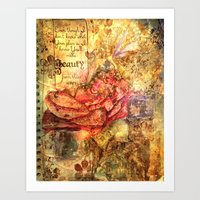 Beauty From These Ashes Art Print