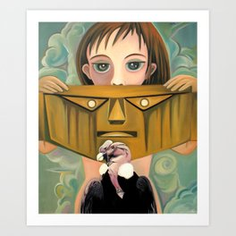Secret identity Art Print