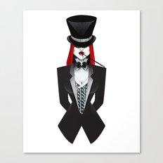Gotham Masquerade Canvas Print
