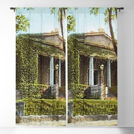 Providence Athenæum Library - Benefit Street - Providence, R.I. Landscape by Jeanpaul Ferro Blackout Curtain