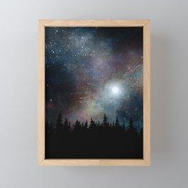 Night Sky Framed Mini Art Print