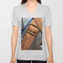 Always Fasten Seat Belts. Medieval Wisdom Unisex V-Neck