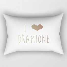 I Love Dramione Rectangular Pillow