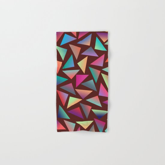 Geometric Pattern VI Hand & Bath Towel
