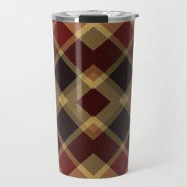 Colors Of Christmas (Plaid 3) Travel Mug