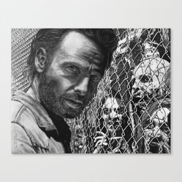 Rick and the Walkers Canvas Print