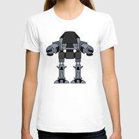 ed sheeran T-shirts featuring ED 209 by Alex Wolf