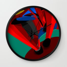 Paused Acceleration Wall Clock