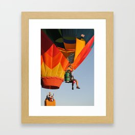 Up, Up, and Away! Framed Art Print