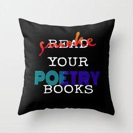 Smoke Your Poetry V. 2 Throw Pillow