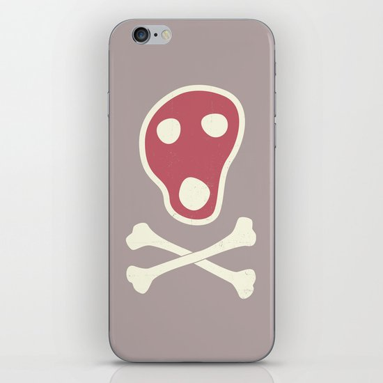 Pirates of Steaks iPhone & iPod Skin