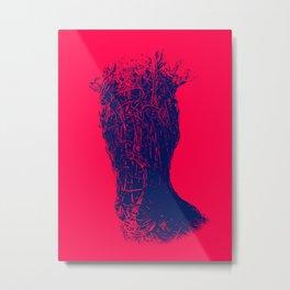 OH DEAR - RED Metal Print